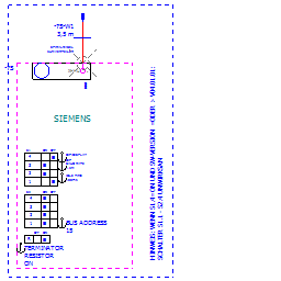 6fx2007-1ae04//6fx2 007-1ae04 lámina de decoración Overlay Sinumerik BHG B-MPI 3,5m